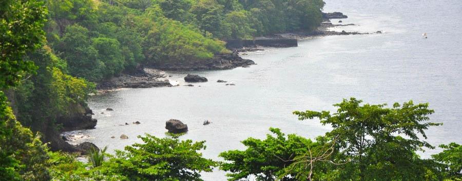 The Turquoise Paradise - São Tomé Praia Piscina