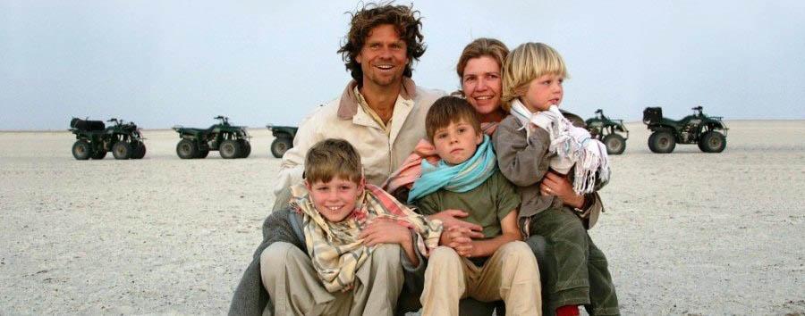Camp Kalahari - Family quad excursion