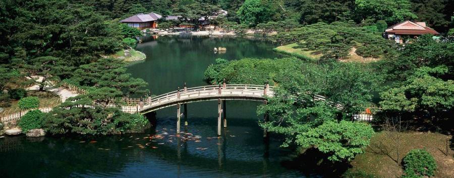 Il Giappone Insolito - Japan Takamatsu, Ritsurin Gardens