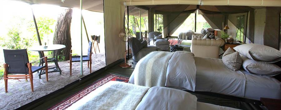 Machaba Camp - Family tent