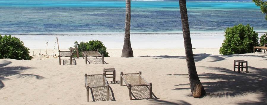Kichanga Lodge - Beach view