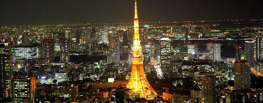 Discovering Tokyo - Japan Tokyo Tower by Night