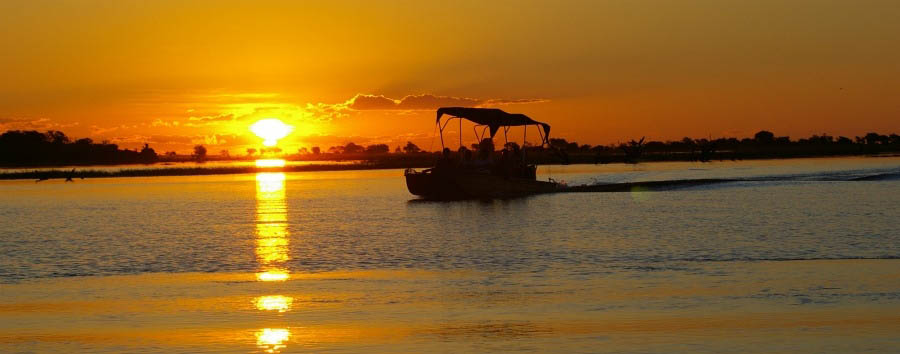 Botswana - Sunset Cruise on The Chobe River