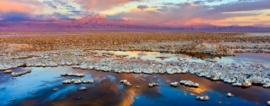 Mosaico cileno: Arica e Putre - Chile Salt Desert Landscape