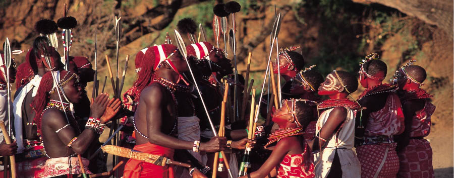 Kenya Highlights - Kenya Meet the Maasai Tribe