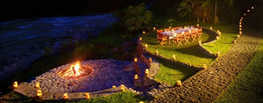Costa Rica - Pacuare Lodge, Romantic Dinner