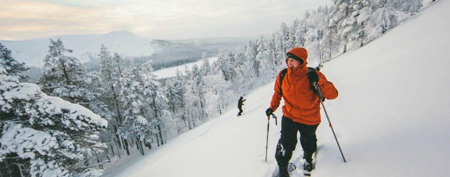 A caccia dell'aurora boreale - Finland Ylläs, Ski Excursion © Taipale Brothers/Visit Finland
