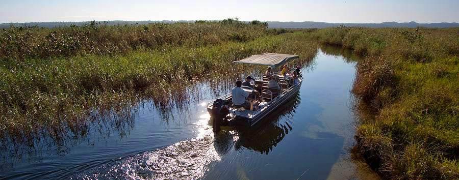 Kosi Forest Lodge - Boat excursion on Kosi Lake