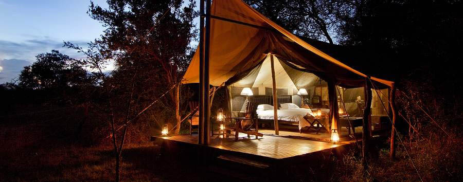 Rhino Walking Safaris - Tent exterior