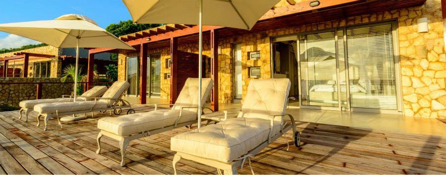 Vilankulos à la carte - Mozambique Bahia Mar Boutique Hotel, Sea View Bedroom Private Verandah