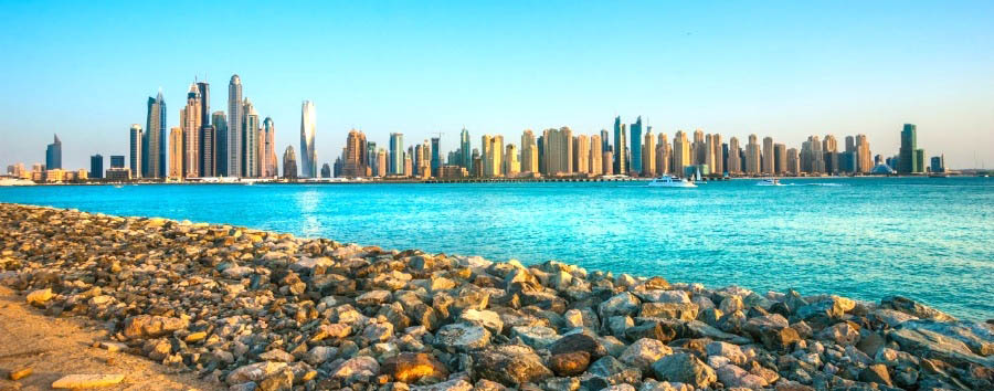 Dubai, mare a Jumeirah Beach - Dubai Stunning View of Dubai