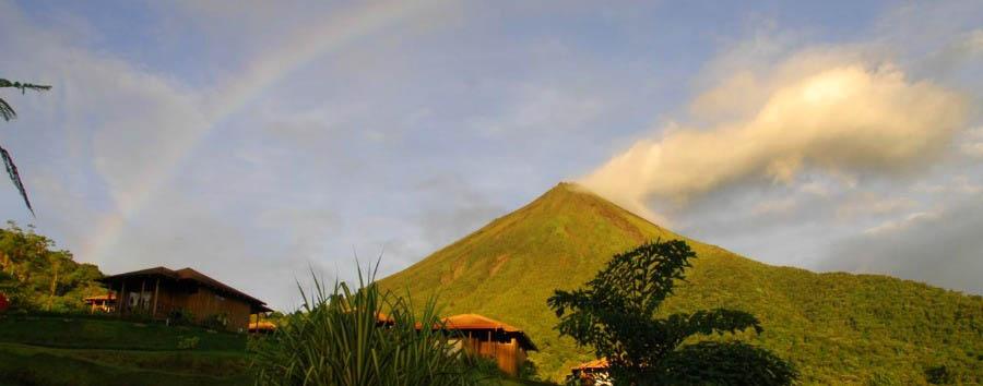 Costa Rica Nature Adventure - Costa Rica View of The Arenal Volcano