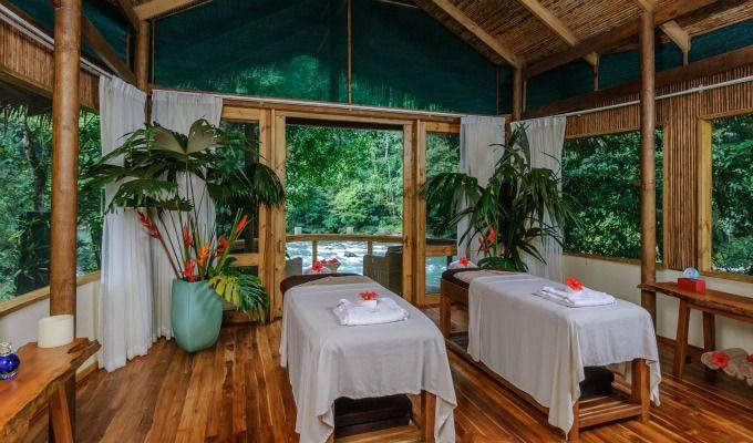 Pacuare Lodge, Jawa Juu Spa Treatment Room - Costa Rica