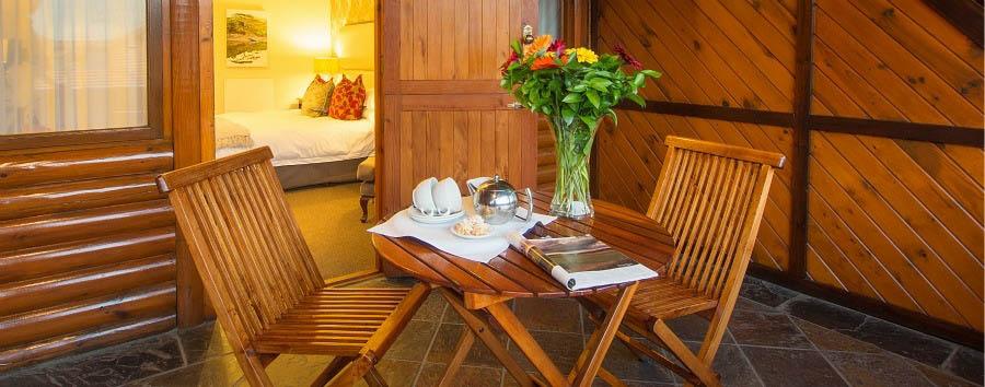 Knysna Log Inn - Balcony