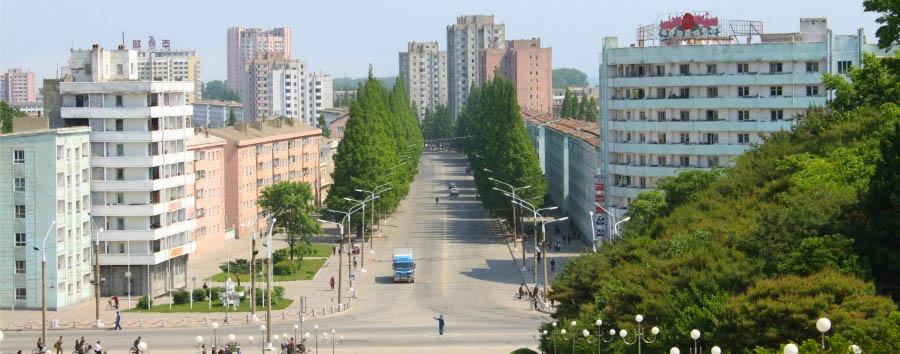 Corea del Nord da scoprire - North Korea Hamhŭng - City View