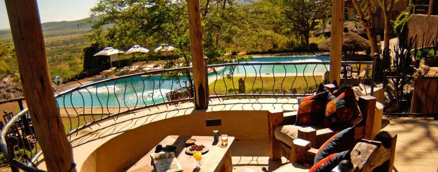 Serengeti Sopa Lodge - Poolview
