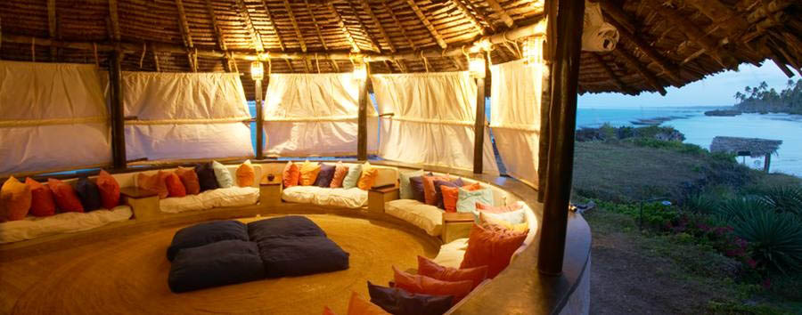 Matemwe Lodge - Lounge