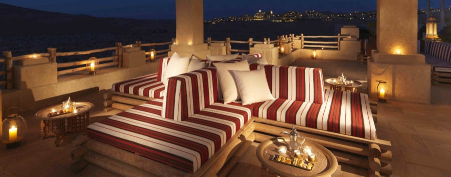 Qasr Al Sarab Desert Resort & Spa by Anantara - Terrace Majlis