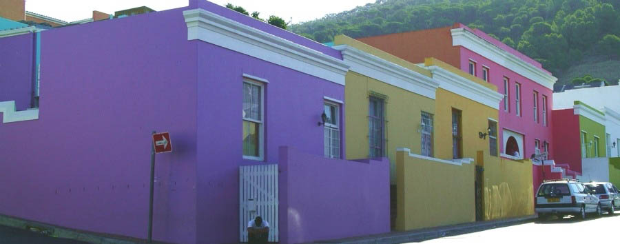 South Africa - Cape Town, Bo-Kaap Houses