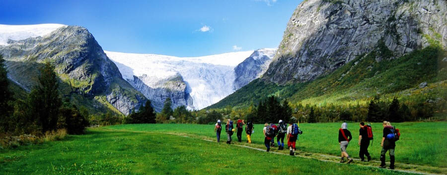 Splendore dei fiordi - Norway Jostedal Glacier © Anders Gjengedal - Visitnorway.com