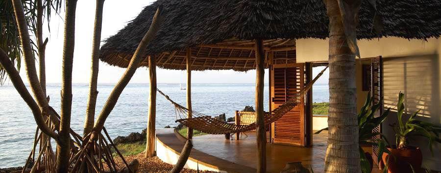 Zanzibar, Matemwe Lodge - Zanzibar Matemwe Lodge bungalow exterior view