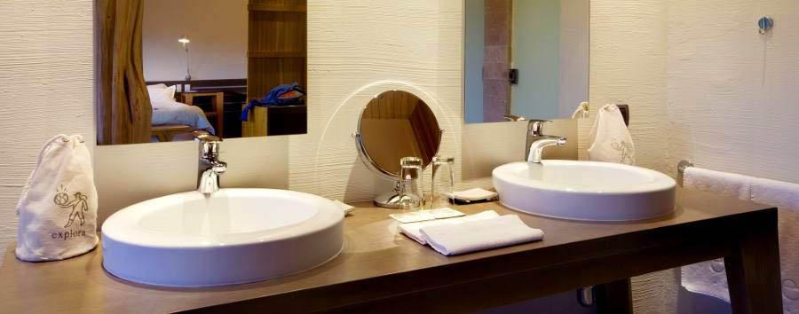 Hotel de Larache - Bathroom with double basin