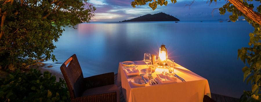 Fiji, mare a Malolo Island - Fiji Likuliku Lagoon Resort, Private Dining on The Deck