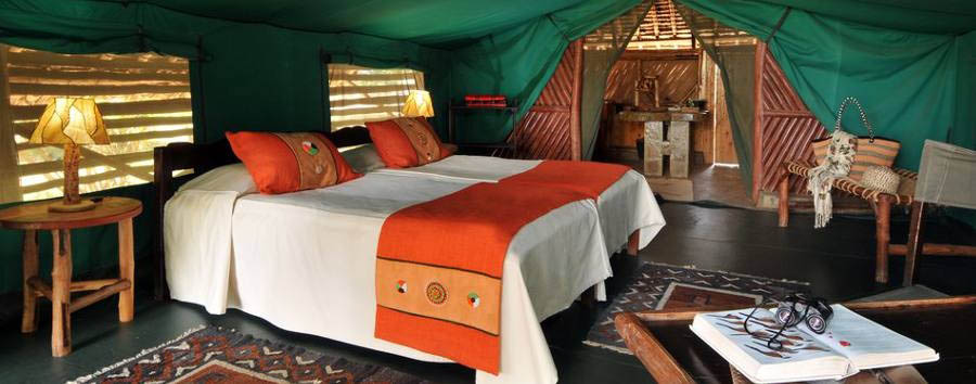 Satao Camp - Tent interior