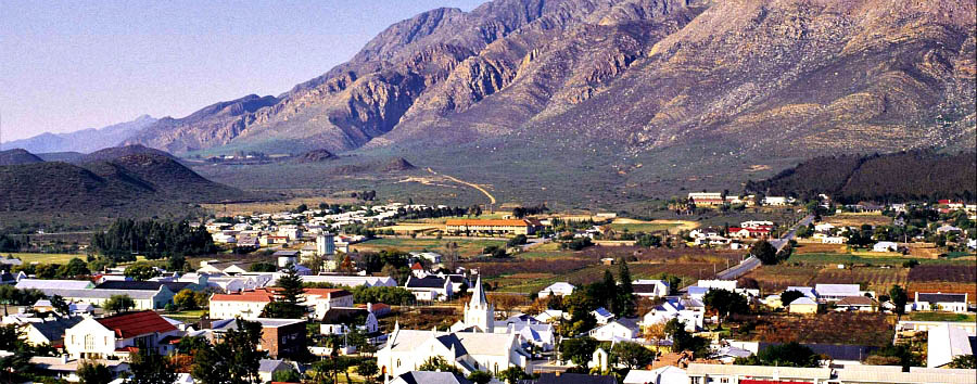 South Africa: The Secret Route 62 - South Africa  Montagu - City view