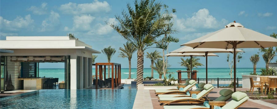 Exclusive Abu Dhabi - Abu Dhabi St. Regis Saadiyat Island Resort - Outside Lap Pool