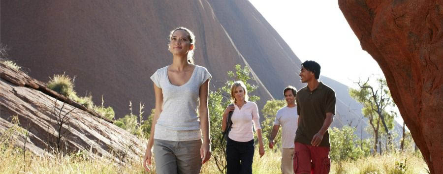 Unique Uluru Experience - Australia Guided Walking Tour © Luxury Lodges of Australia
