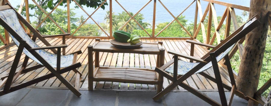 Mucumbli Eco Lodge - Verandah