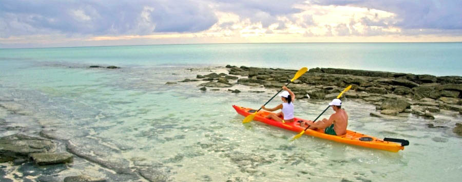 Mozambique - Anantara Medjumbe Island Resort & Spa, Kayaking