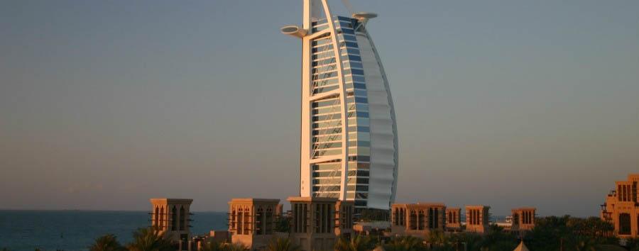 Dubai, mare a Jumeirah Beach - Dubai View of Burj Al Arab