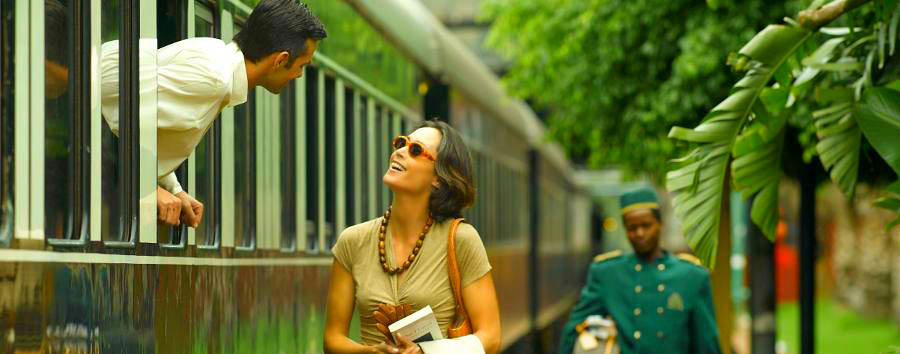 South Africa - Romantic departure at Rovos Rail central station