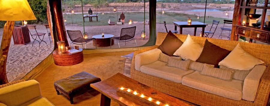 Sanctuary Zebra Plains Camp - Lounge