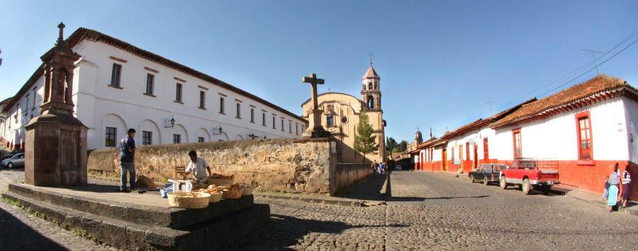 Mexico, Colonial Flavour - Mexico Pátzcuaro, Casa de La Cultura © Rafael Torres