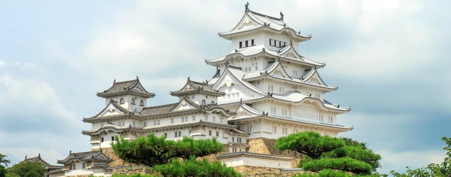Gran Tour del Giappone - Japan Himeji Castle