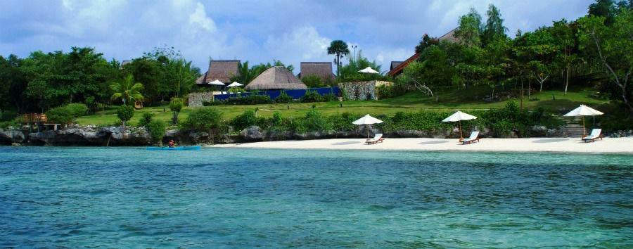 Eskaya Experience - Philippines Eskaya Beach Resort & Spa, Resort & Beach View