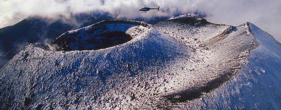 New Zealand, Enchanting Nature - New Zealand Huka Lodge, Helicopter Excursion over Mt. Ngauruhoe