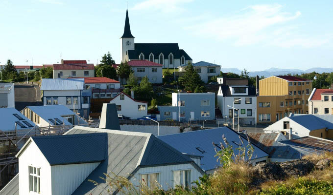 View of Borgarnes - Courtesy of Iceland Travel - Iceland