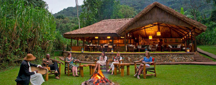 The undiscovered pearl of Africa - Uganda Sanctuary Gorilla Forest Camp, Main Lodge Exterior
