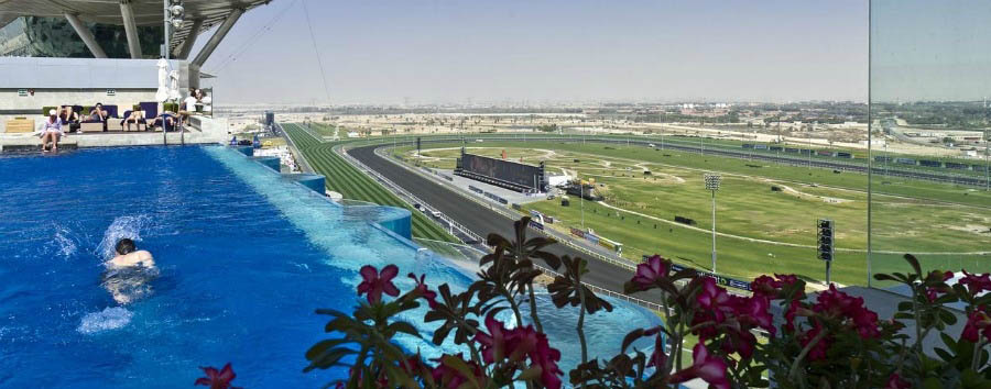 The+Meydan+Hotel+-+Rooftop+Pool+and+Racecourse