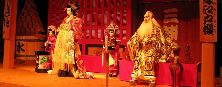 Giappone: tradizioni e nostalgia - Japan Tokyo - Statues at the Edo Museum