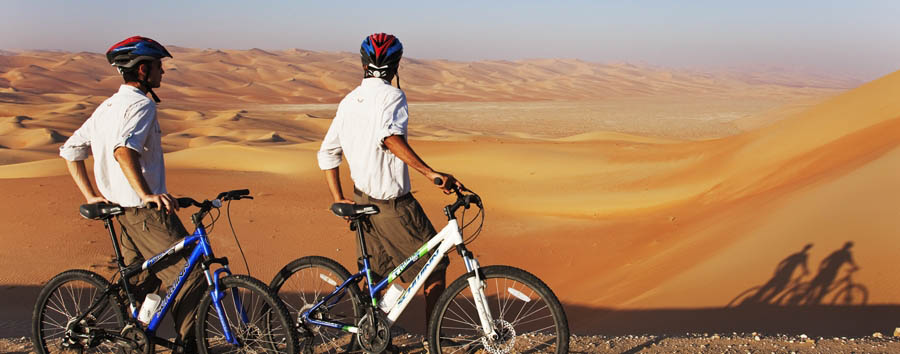 Abu Dhabi - Activities in Sir Bani Yas Island - Mountain Bike
