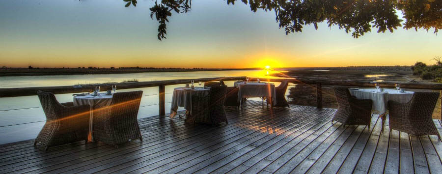 Botswana - Chobe Game Lodge, Amazing View from the Deck