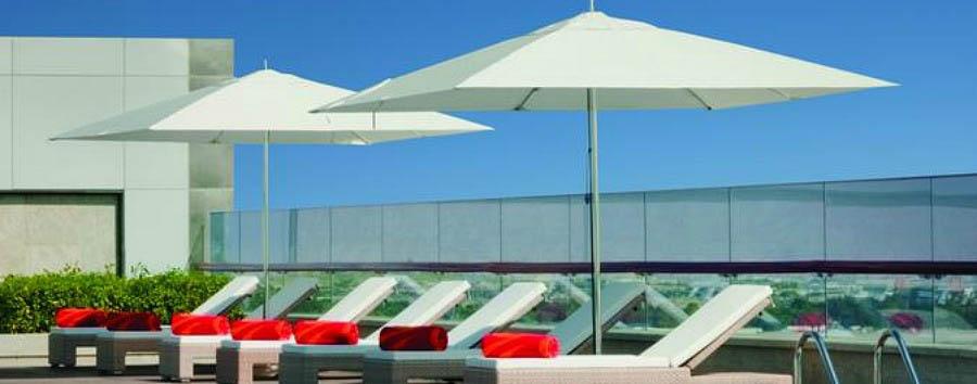 Dubai, mare a Meydan Beach - Dubai The Meydan Hotel, Pool Area