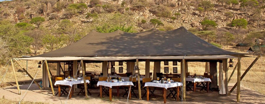 Serengeti Pioneer Camp - Breakfast tent