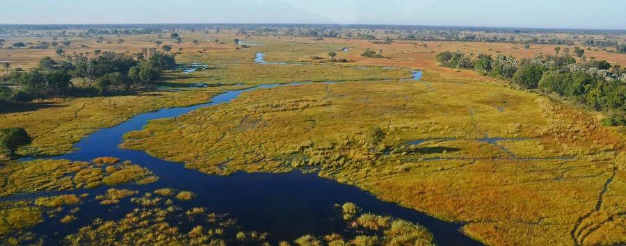 Spirito Africano - Botswana Okavango Delta, Aerial View