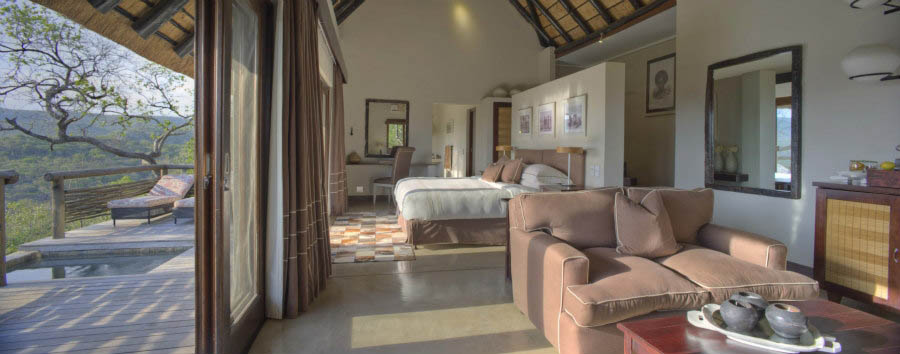 Phinda+Mountain+Lodge+-+Family+Suite+Bedroom